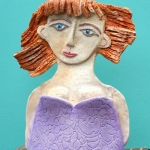 Vrouw rood haar